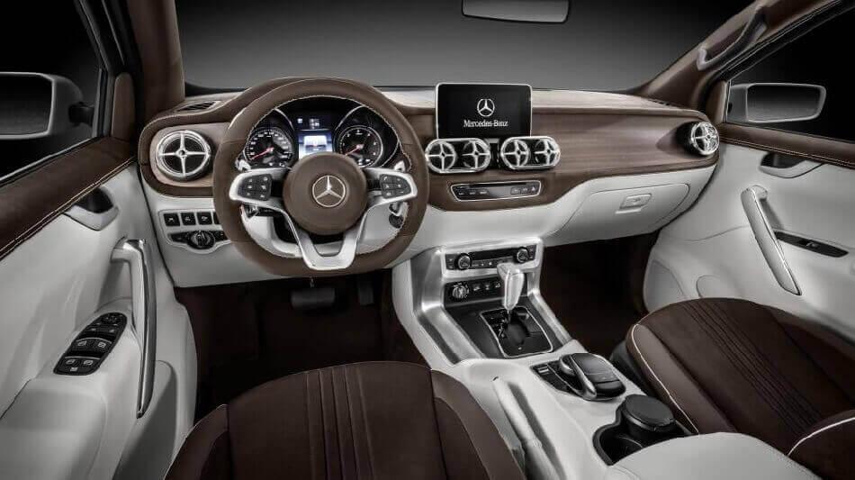 пикап компании Mercedes