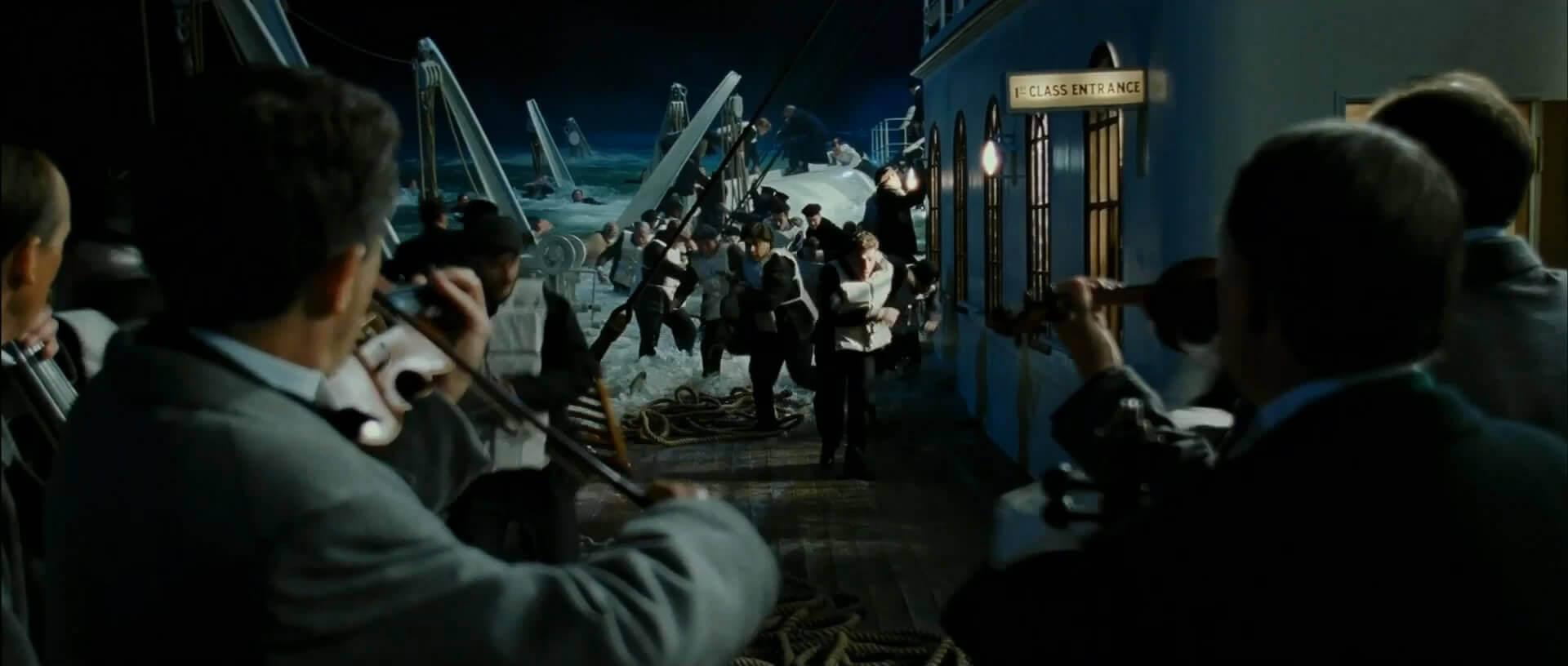 оркестр Титаника играл до трагического финала