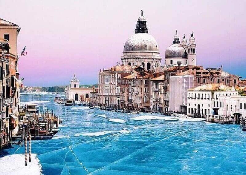 Венеция в зимние месяцы