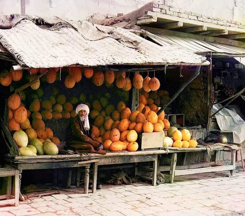 Рынок в Самарканде. Между 1905-1915 гг.