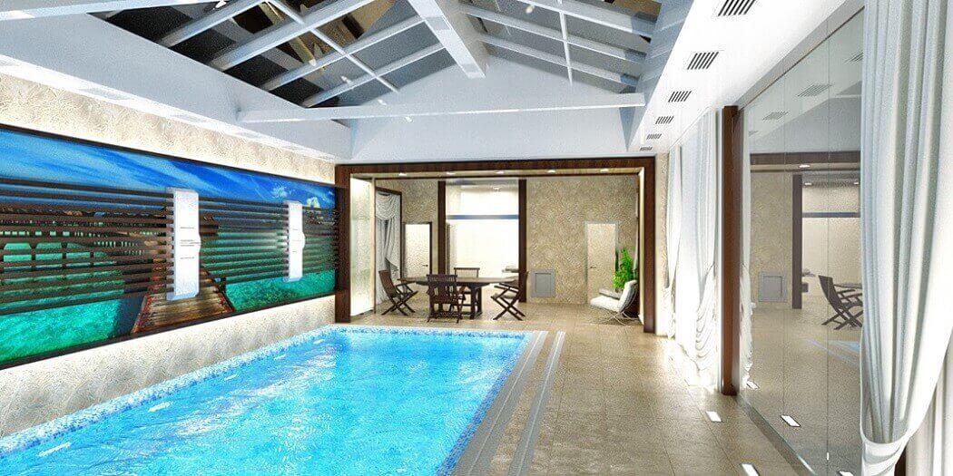бассейн дома
