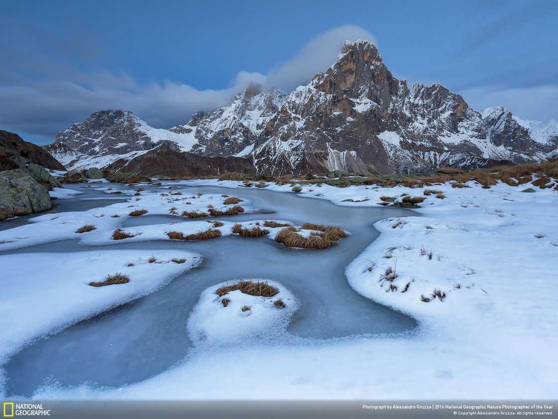 Италия, горный массив Доломитовые Альпы