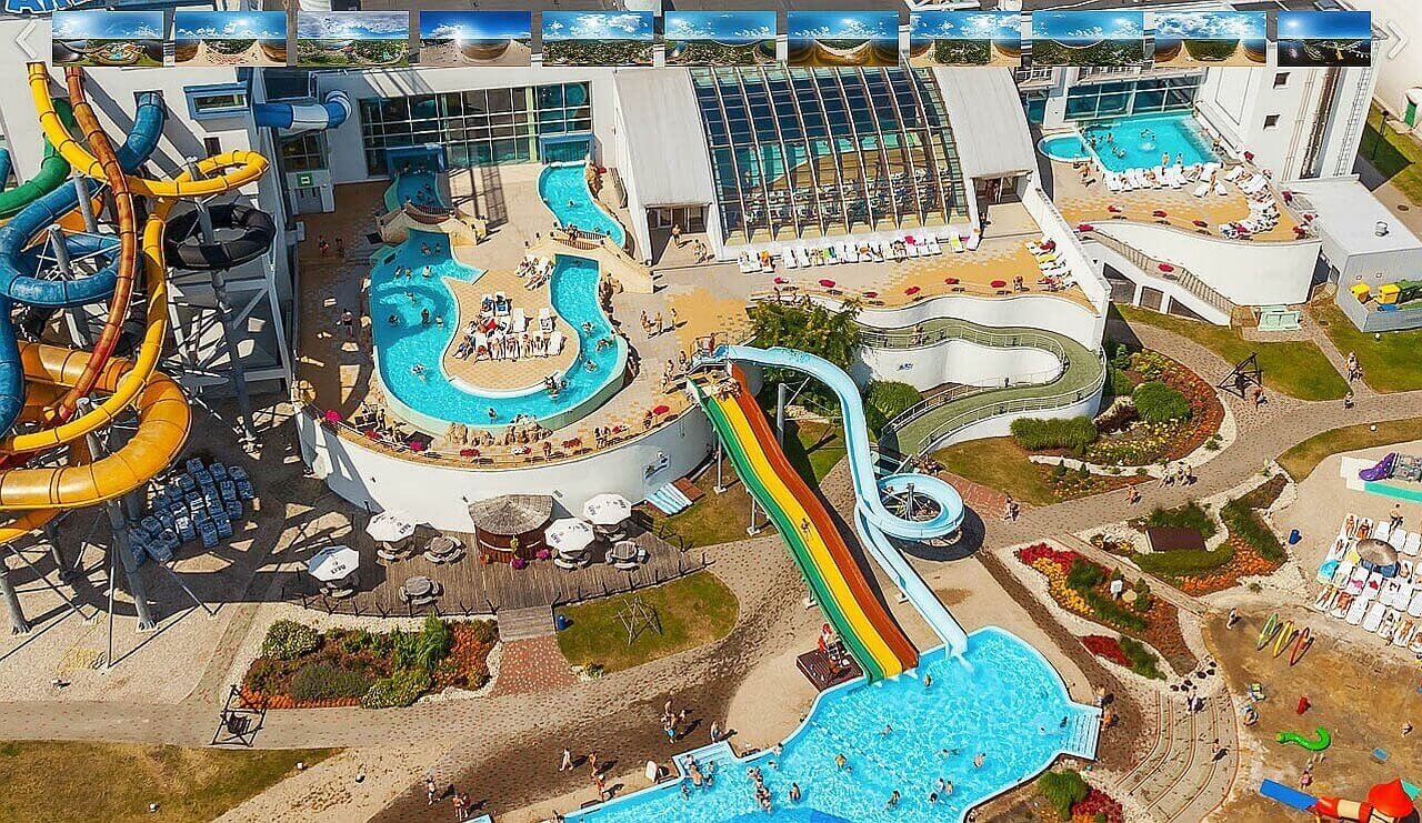 самый большой в Европе аквапарк