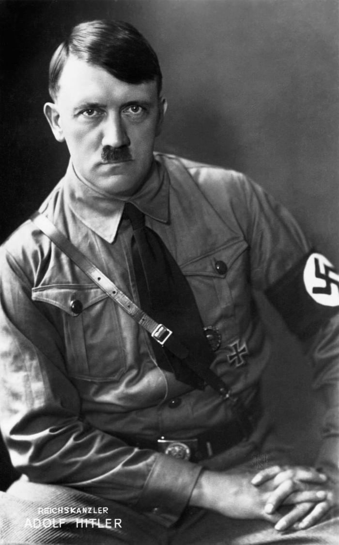 Интересные факты из жизни Гитлера.