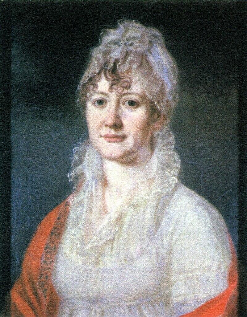 Бабушка Лермонтова - Арсеньева Елизавета Алексеевна