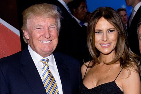 Дональд Трамп и Мелания Трамп (Кнаусс)