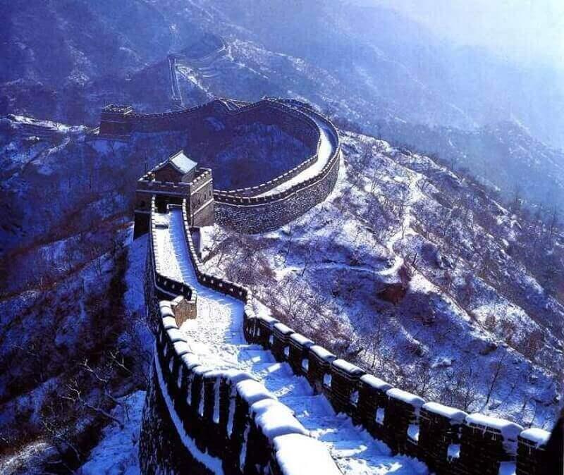 Китайская стена зимой