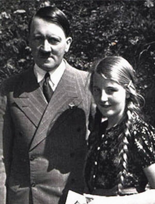 Адольф Гитлер и Ангела Раубаль