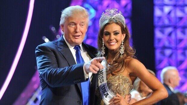 Дональд Трамп и Мисс Америка