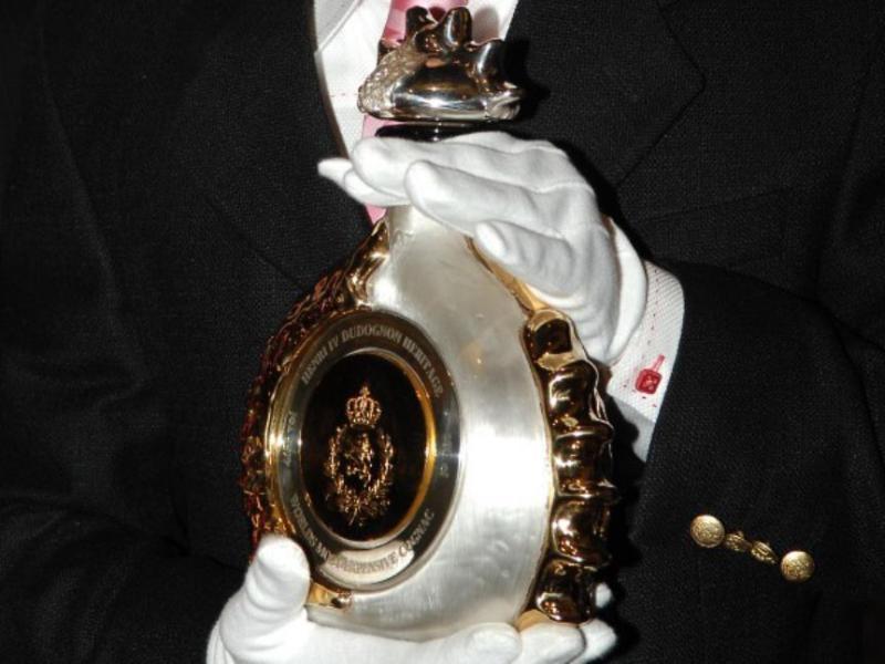 коньяк Henri IV Dudognon столетней выдержки