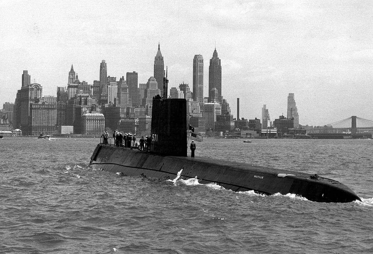 USS Nautilus (SSN-571), атомная подводная лодка