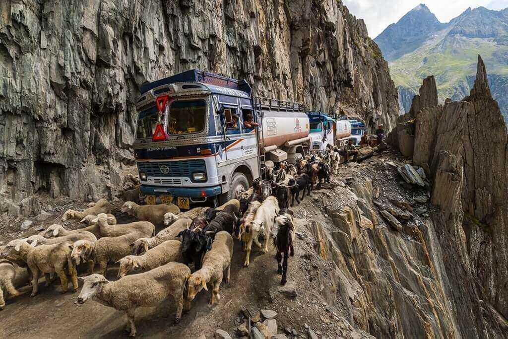 Зоджи-Ла, Индия