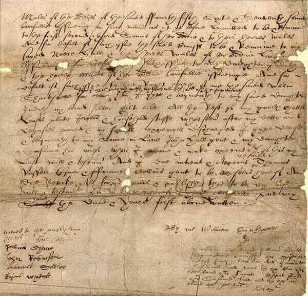 завещание Уильяма Шекспира