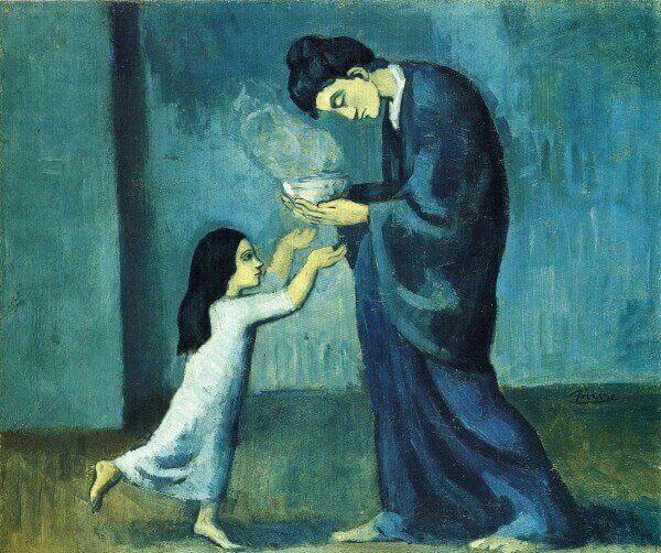 Голубой период - Пабло Пикассо