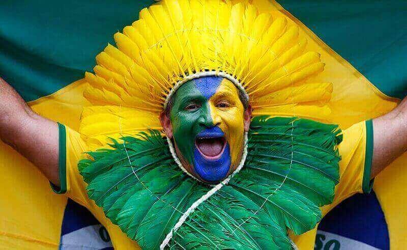 бразильские болельщики