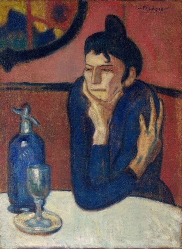 Любительница абсента, Пабло Пикассо