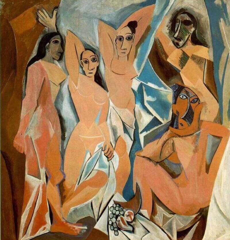 Авиньонские девицы, Пабло Пикассо