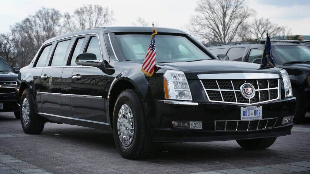 автомобили перевозящий президента США