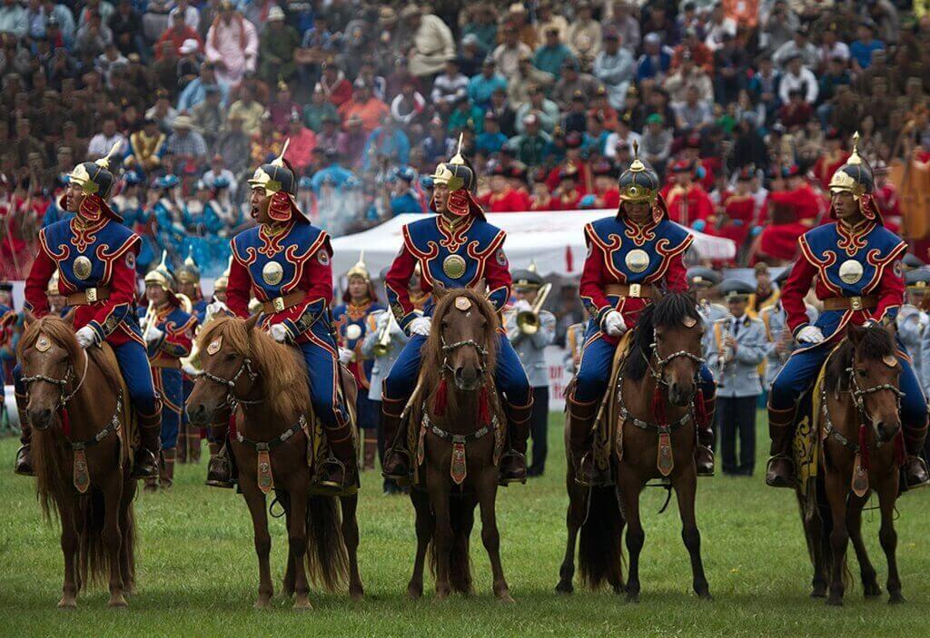 традиционные соревнования Монголии