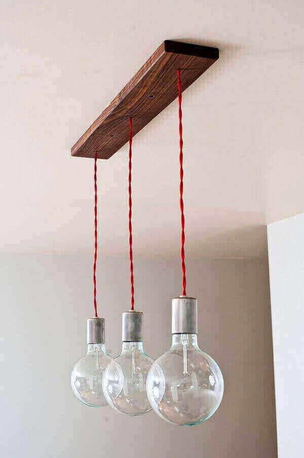 Люстры для кухни из дерева своими руками