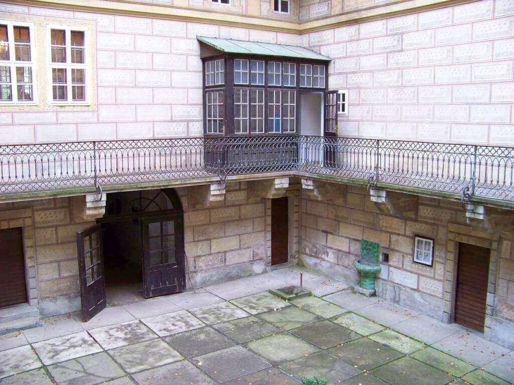 Замок Гоуска. Чехия