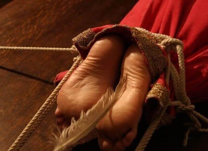 щекоткa как средство пытки