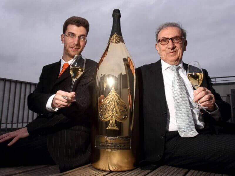 Armand de Brignac Midas тридцатилитровый гигант шампанского