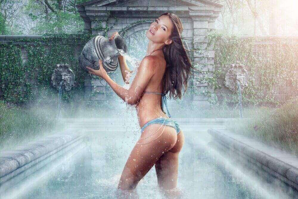 Сексуальная часть водолеев отличный