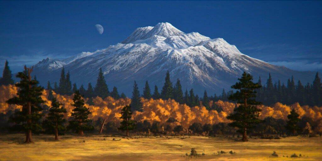 Американский вулкан