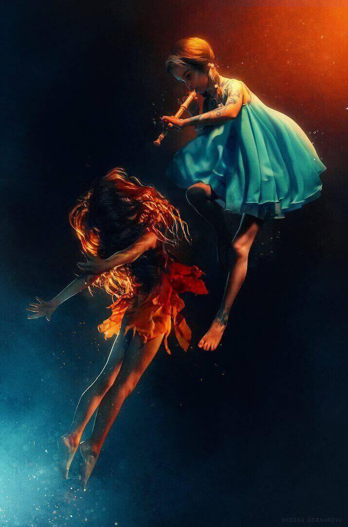 Девочки огонь и вода - фото Оксаны Горнаковой