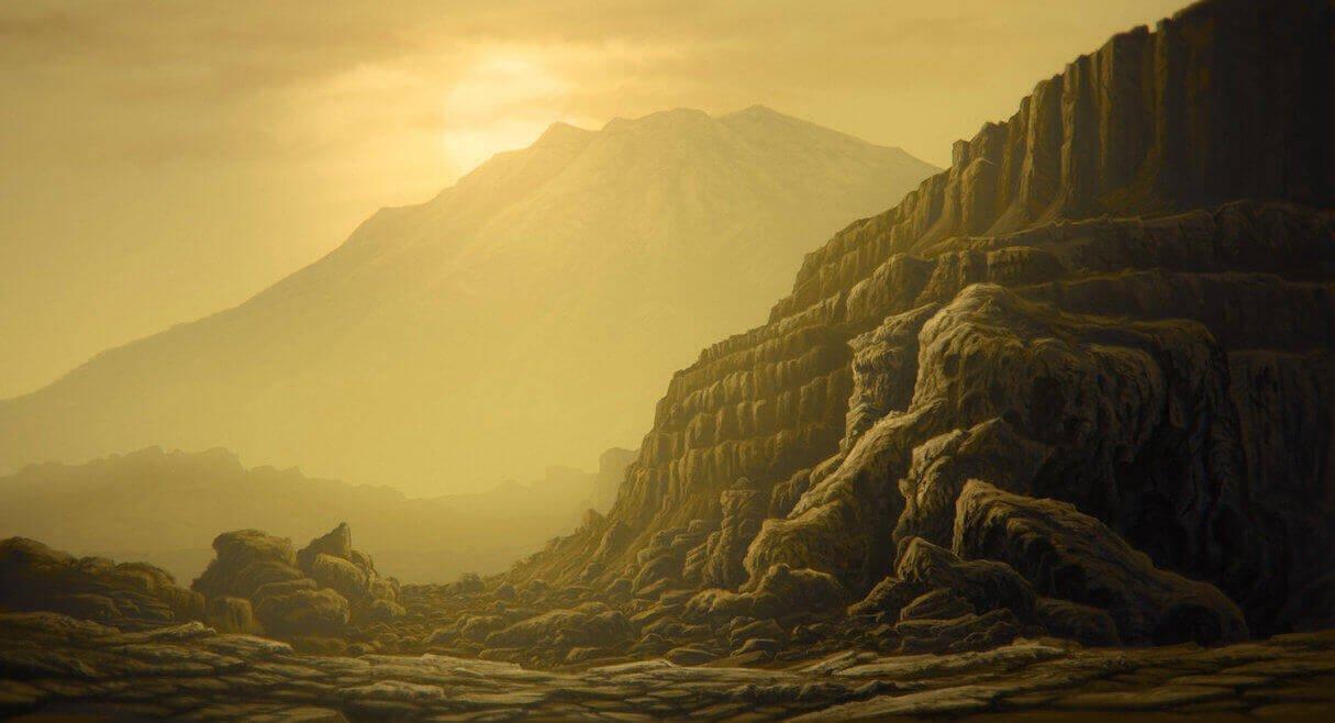 Пейзажи Венеры