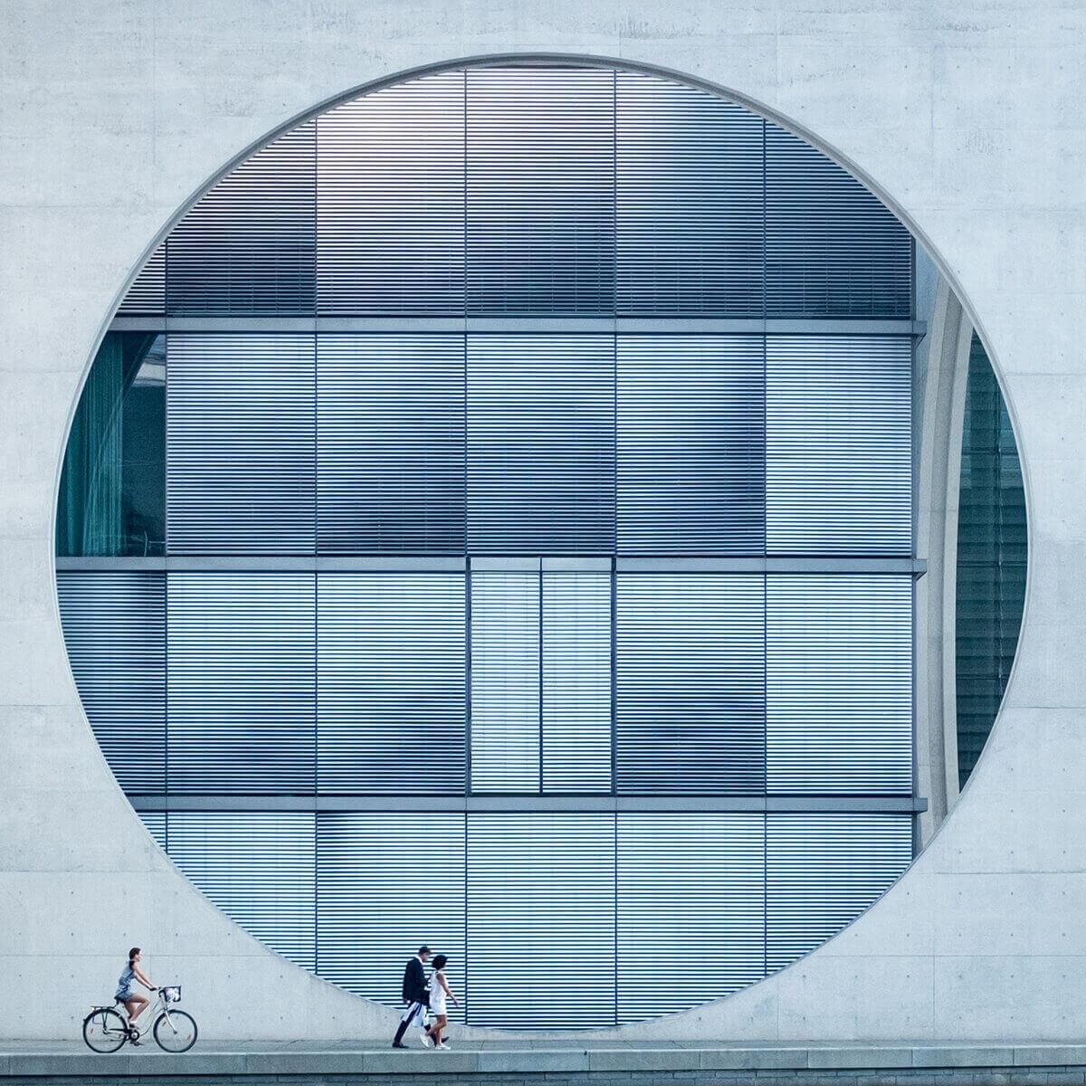 Круг в бетоне, Берлин