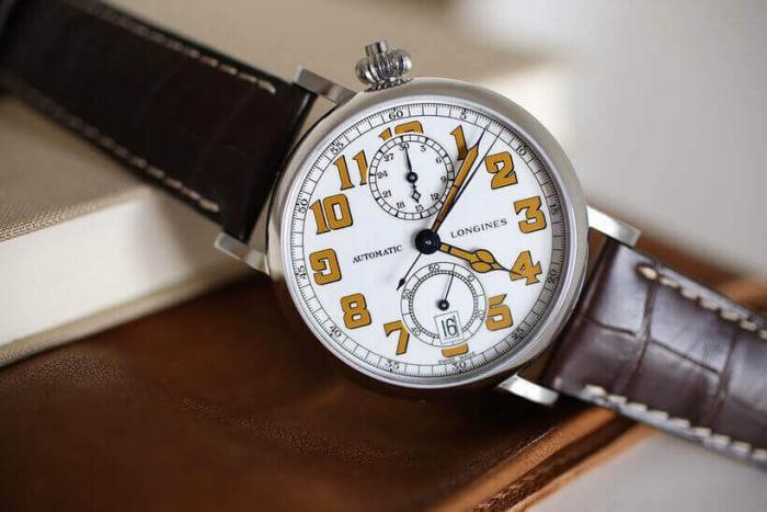 Роскошное наследие 2017: часы The Longines Avigation Watch Type A-7 1935