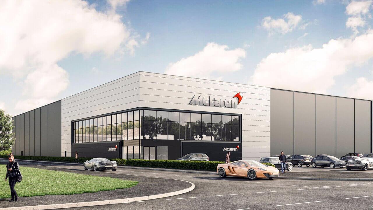 Завод McLaren в Шеффилде