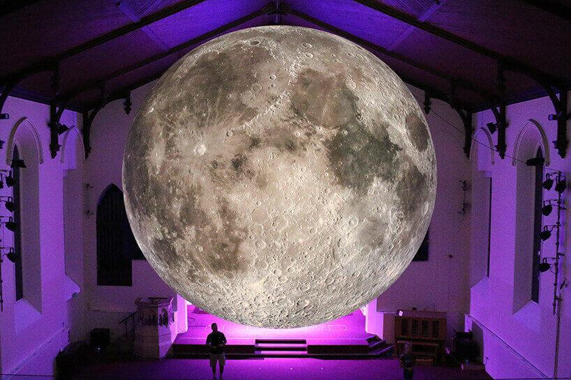 Люк Джеррам: кругосветное путешествие 7-метровой Луны