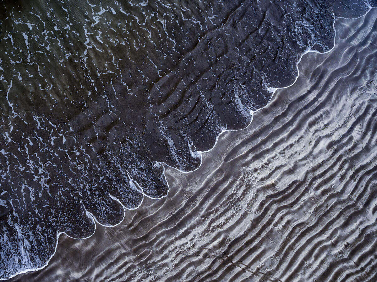 Гирлянда, Съемку с воздуха при помощи дрона, пляж в Сан-Августине, Маспаломас