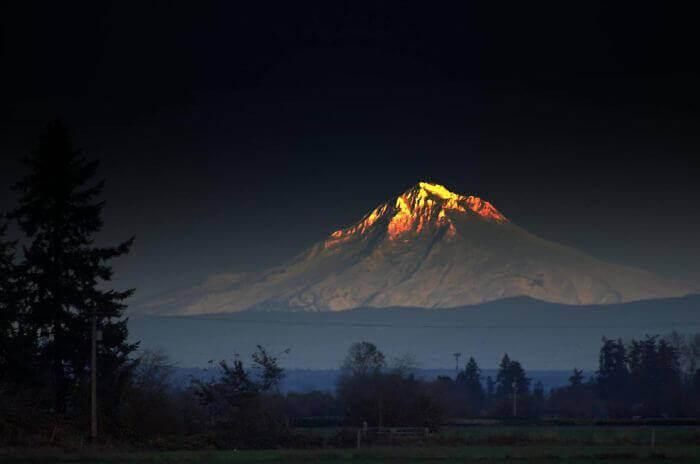 Сияющая гора