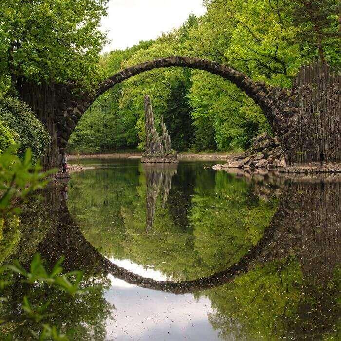 Чёртов мост в Германии