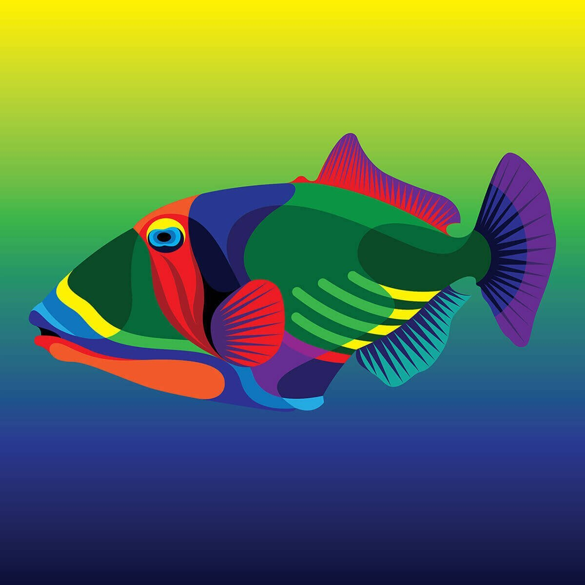 Вымирающие виды: Карибские тропические рыбы