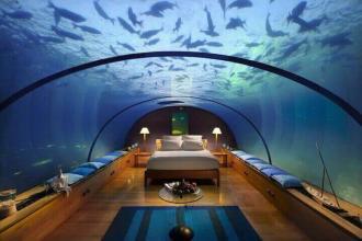 9 подводных отельных номеров с самым зрелищным видом «под океан»