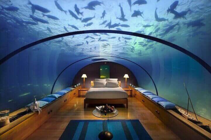 Hilton's Conrad Rangali Island Resort – Мальдивы