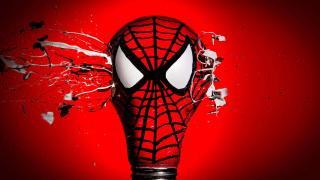 Человек-Паук - Супергерои из лампочек