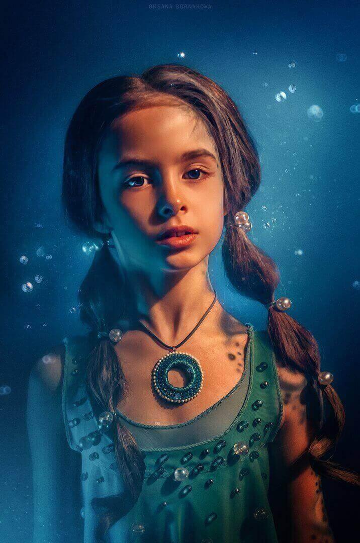 Девочка вода