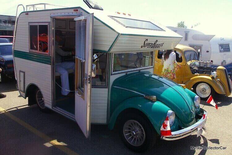 Фольксваген Жук Bug Camper - новый RV-гибрид 1