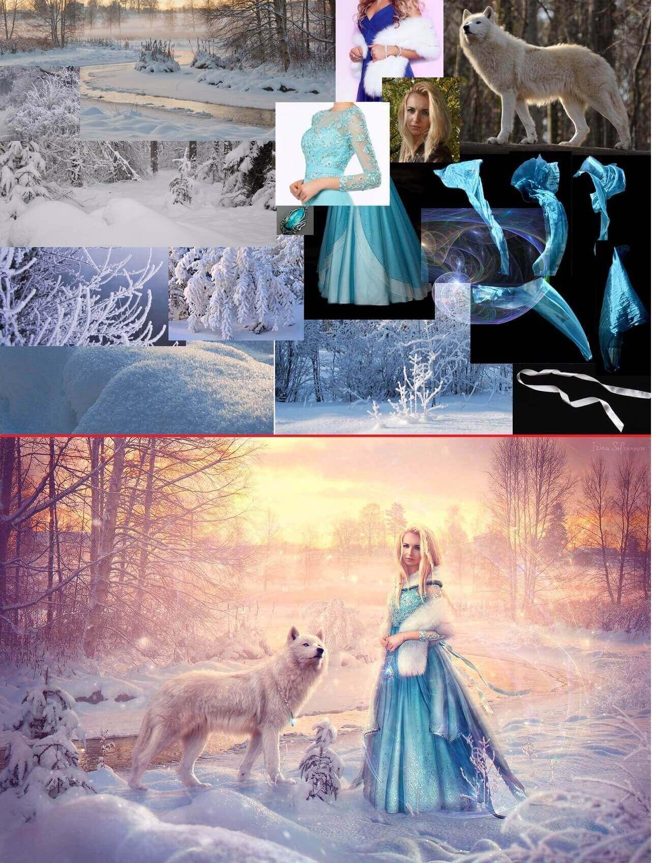 «Снежный» сюжет от Ирины Сафроновой
