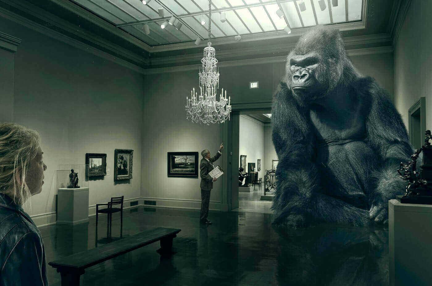 Животные в Художественном музее