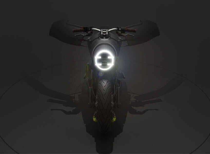 концепт электромотоцикла Порше 618