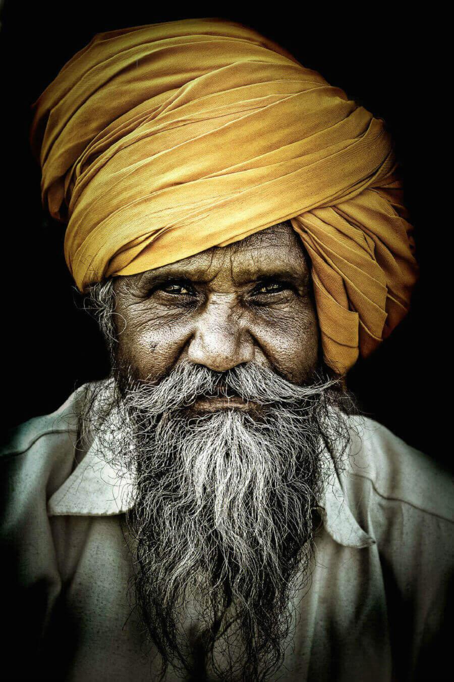 человек в Махараштре, Индия