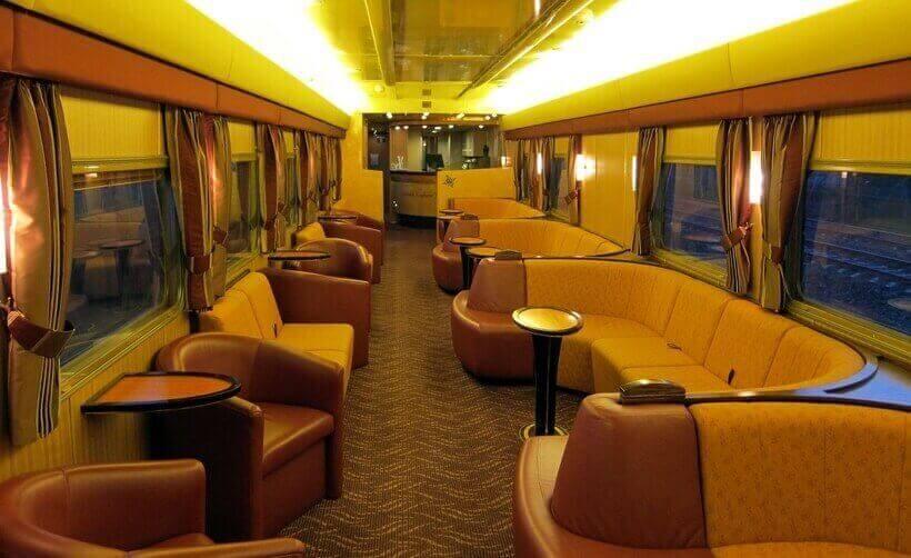 Indian Pacific - индийский тихоокеанский поезд