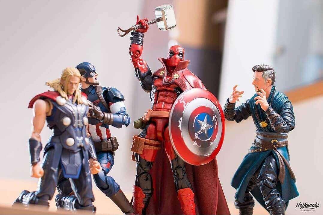 молот Тора, щит Капитана